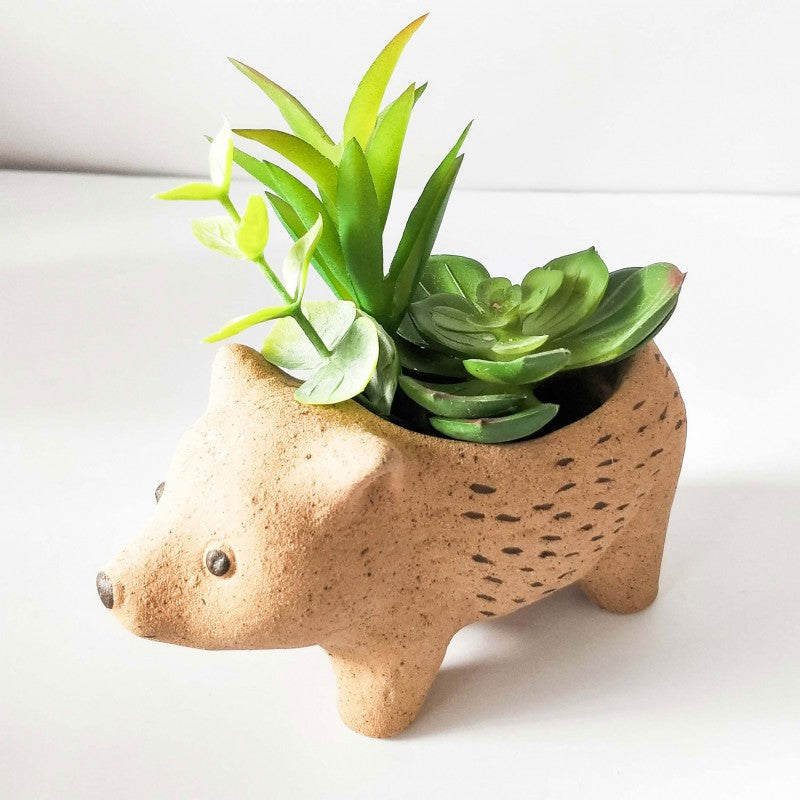 Wombat Planter Natural