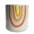Amber Rainbow Planter White - Large