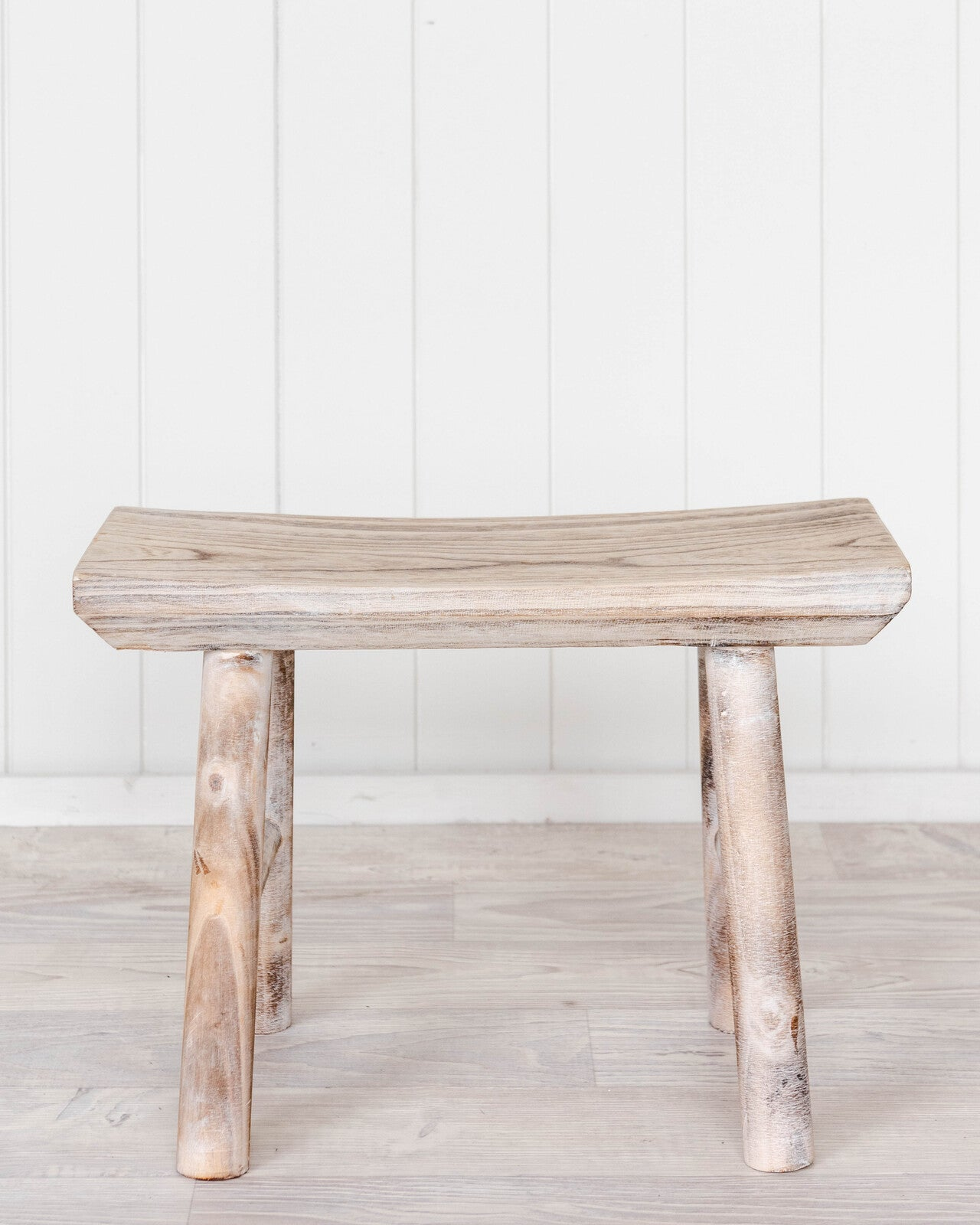 Stool - Timber W/Wash Moki - 45x19x31