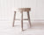 Stool - Mele Small - Timber Whitewash - 32x32x35