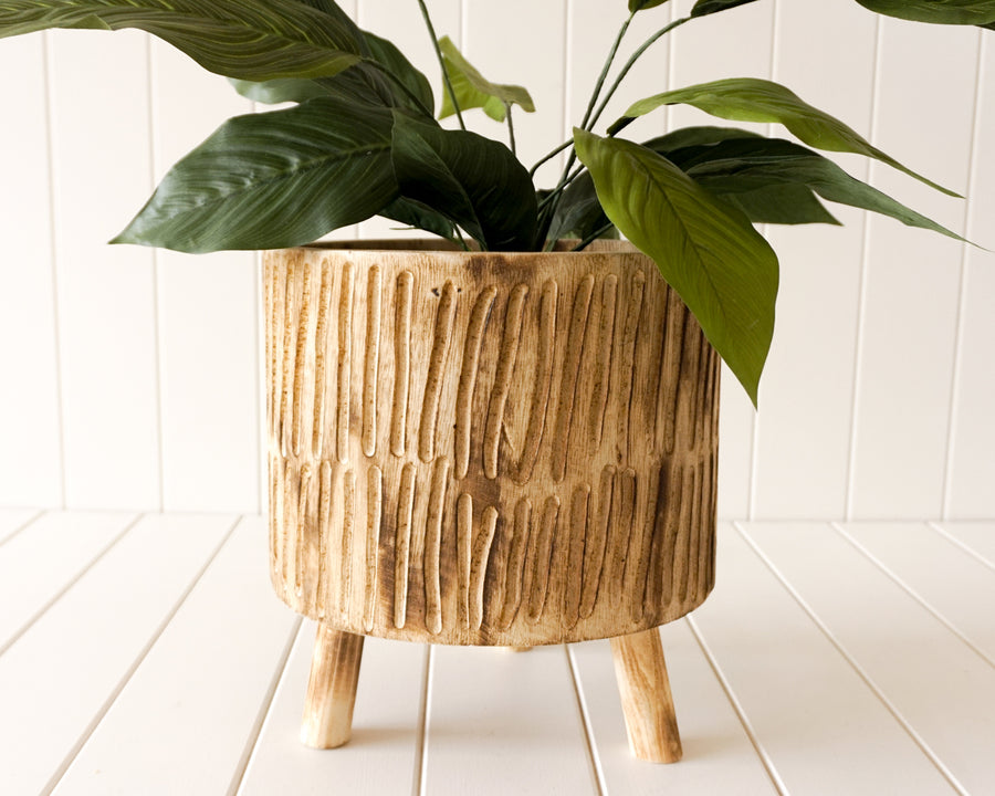 Tokoriki Timber Planter Large Natural
