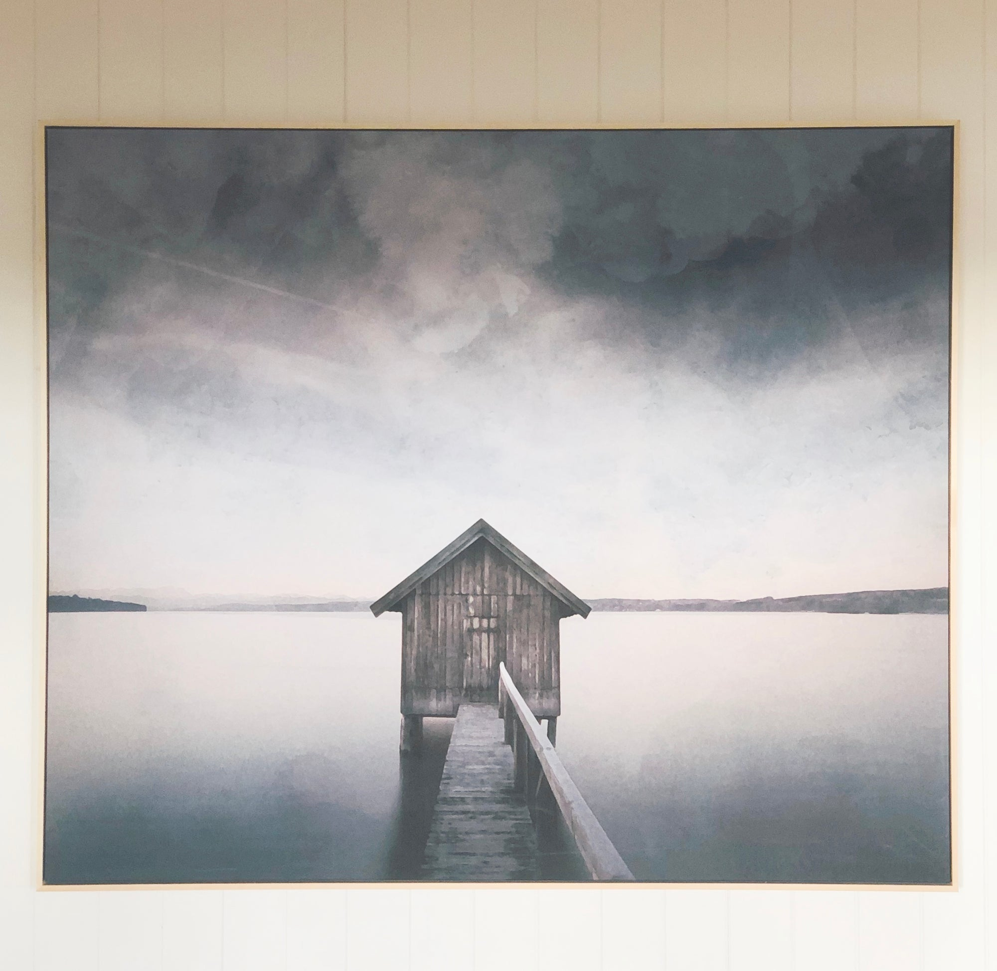 Lakehouse Wall Decor Print