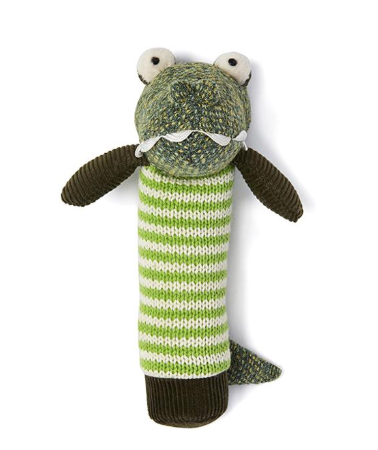 Albert the Croc Rattle