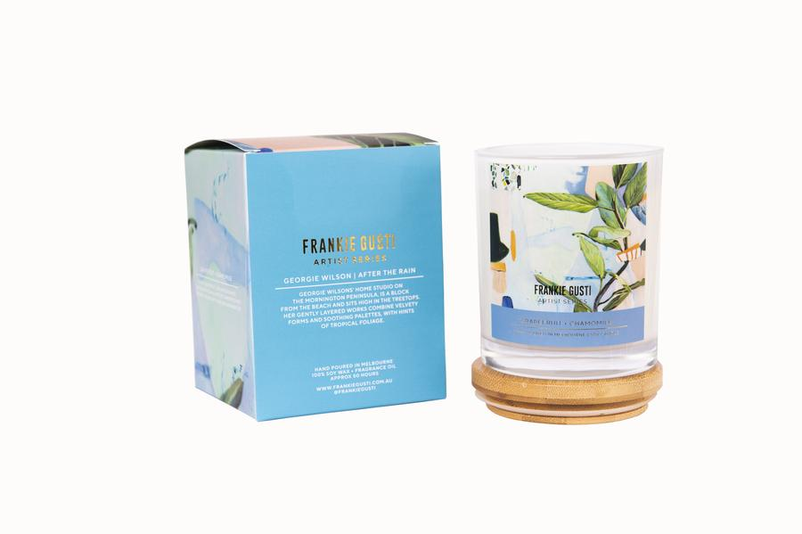 Frankie Gusti Candle 2020 Artist Collection - Georgie Wilson - Chamomile + Grapefruit