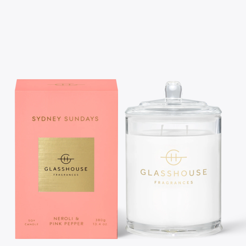 380g Candle - SYDNEY SUNDAYS By Glasshouse