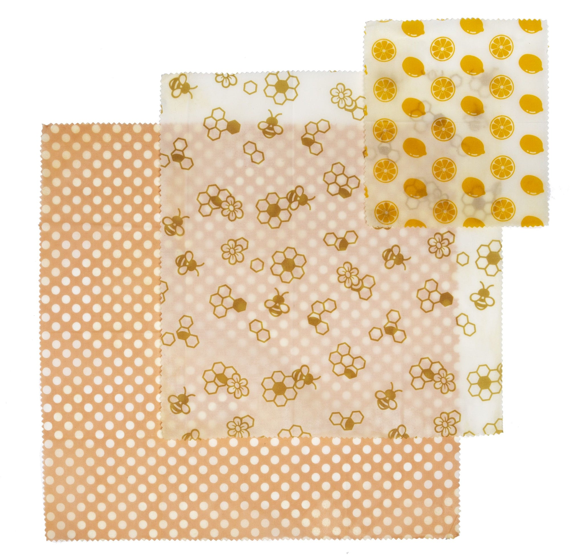 Reusable Beeswax Wrap Set/3
