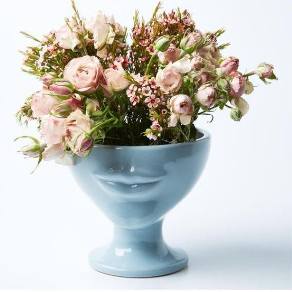 Simone Sky Blue Planter