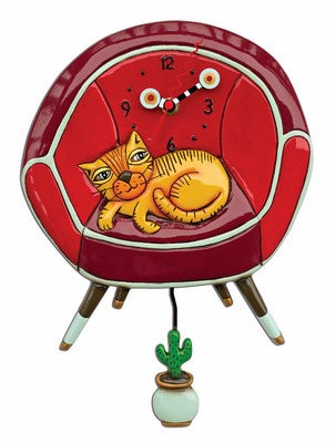 Cool Cat clock