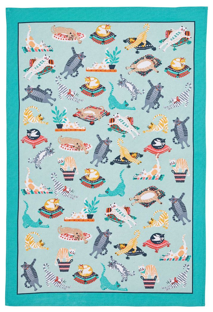 Kitty Cats Tea Towel