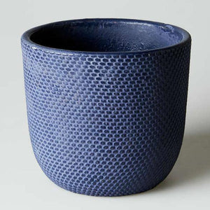 Tweed Pot Indigo