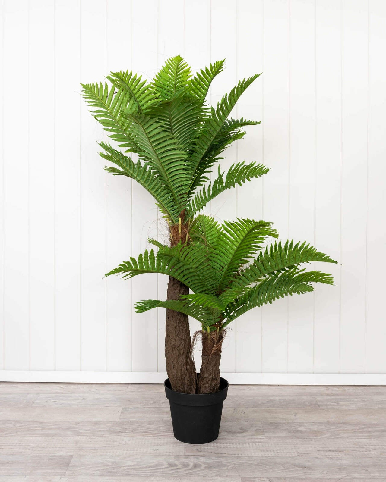 Artificial Plant Green Palm Twin 125cm