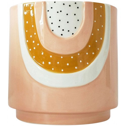 Woodstock Rainbow Planter Pink Small