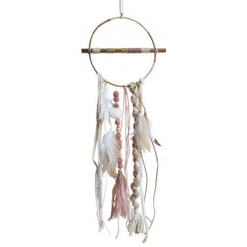 Pink Feather Dream Catcher