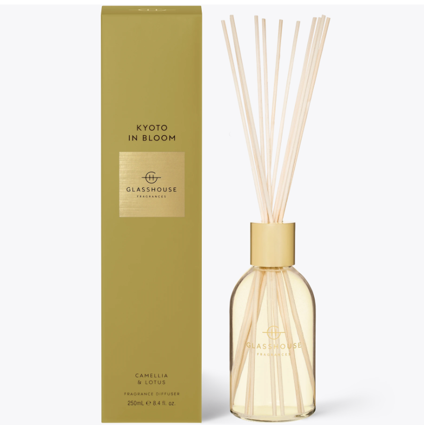 250ml Diffuser - KYOTO IN BLOOM By Glasshouse