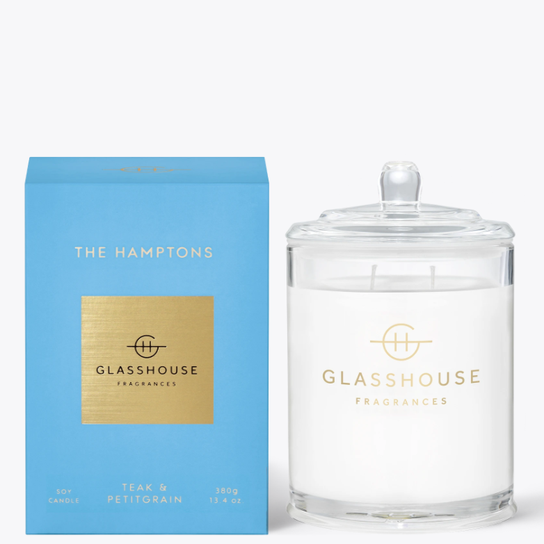 380g Candle - THE HAMPTONS