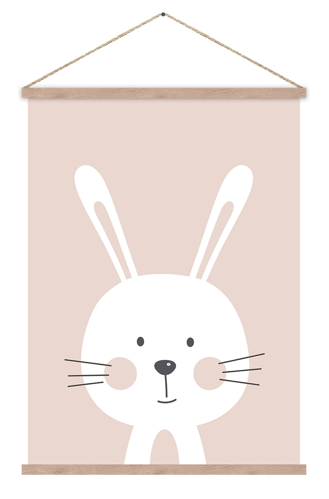 Betty Bunny Hanging Scroll