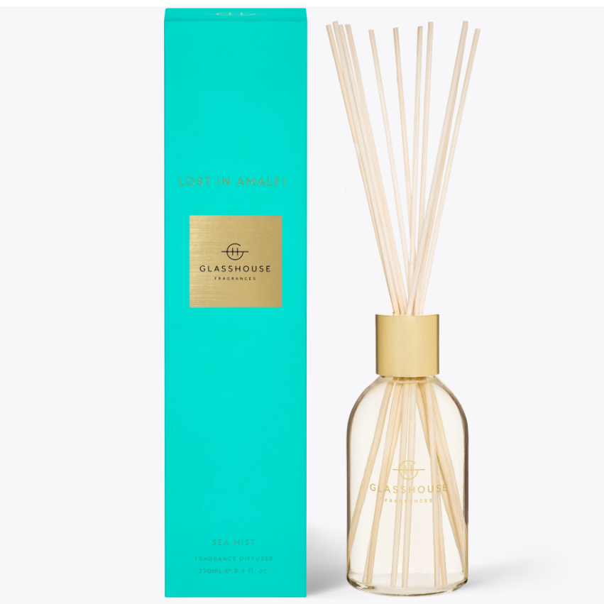 250ml Diffuser - LOST IN AMALFI By Glasshouse