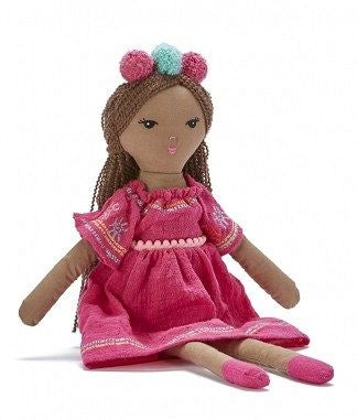 Little Miss Petunia-Pink Doll