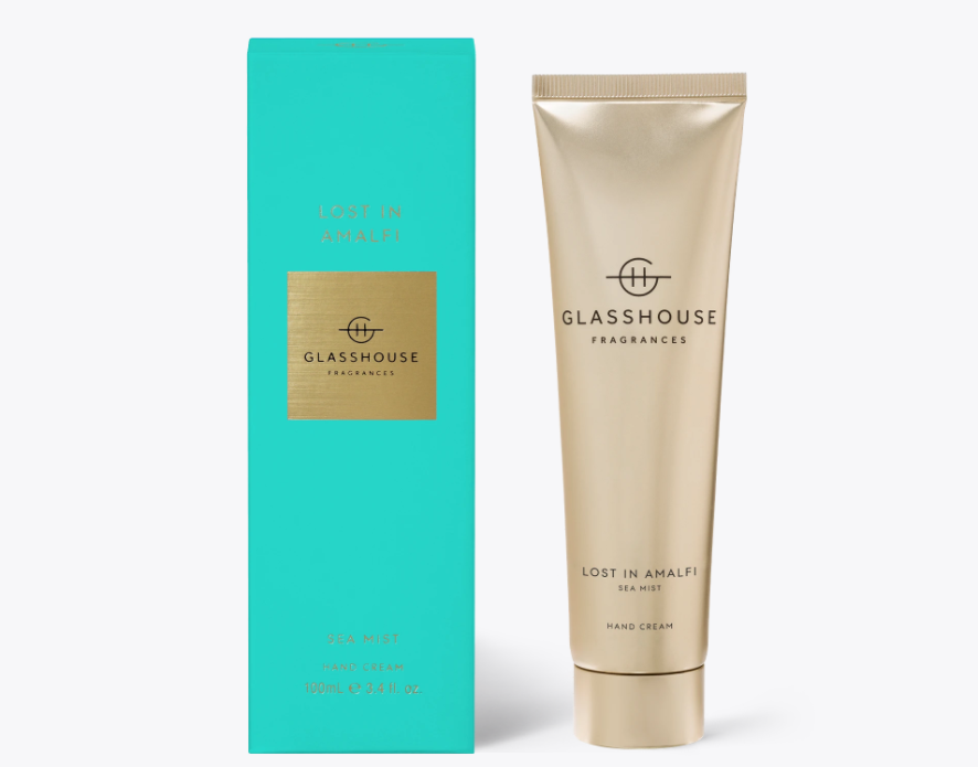 100ml Hand Cream - LOST IN AMALFI By Glasshouse