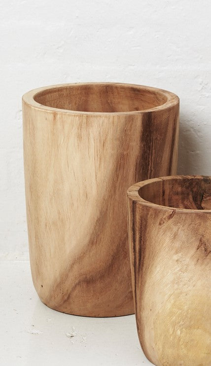 Issa Teak Wood Planter - Large