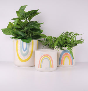 Ayla Planter Colourful Sm 11cm
