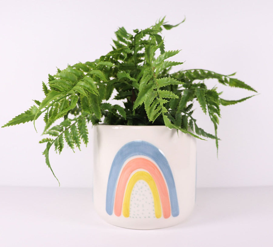 Ayla Planter Colourful Med 14cm