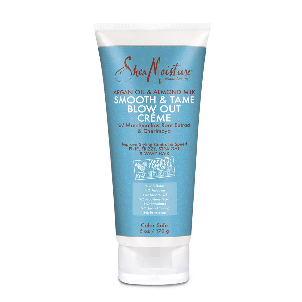 Shea Moisture Argan Oil & Almond Milk Smooth & Tame Blow Out Creme