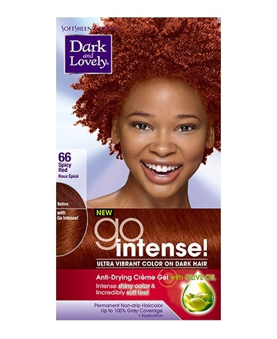 Dark and Lovely Go Intense - Spicy Red