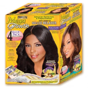 Profectiv Mega Growth - No-Lye Relaxer Regular: 4 Touch-up Applications