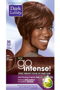 Dark and Lovely Fade Resist Rich Conditioning Color - Magic Plum