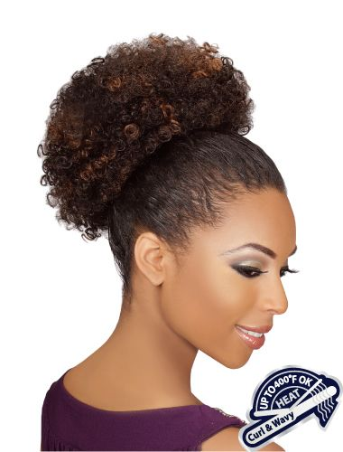 Drawstring Ponytail - Heat Retardant - 309