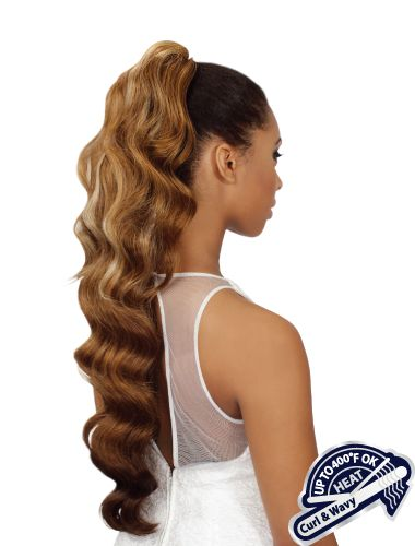 Drawstring Ponytail - Heat Retardant - 350
