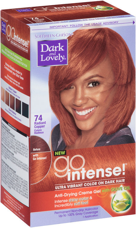 Dark and Lovely Fade Resist Rich Conditioning Color - Radiant Copper