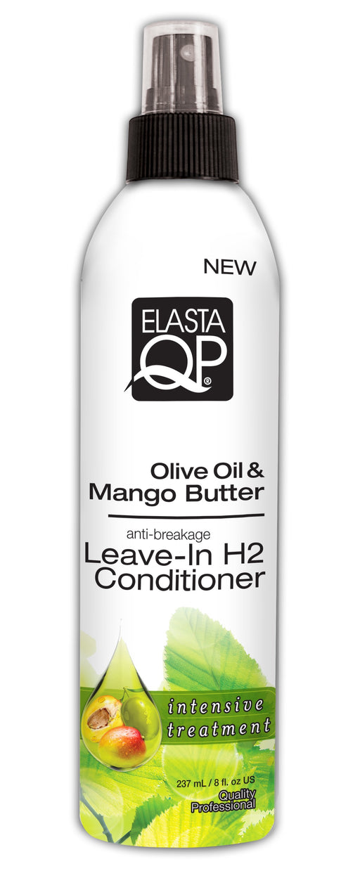 Elasta QP Olive Oil & Mango Butter Leave-In H2 Conditioner