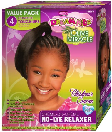 African Pride Dream Kids - No-Lye Relaxer Coarse