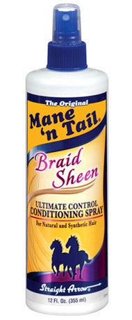 Mane 'n Tail Braid Sheen Ultimate Control Conditioning Spray