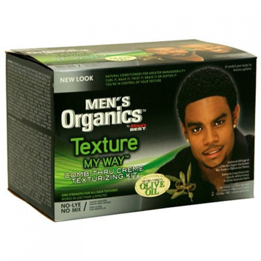 Men's Texture My Way Comb-Thru Creme Texturizing Kit