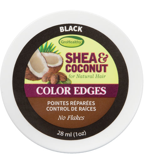 GroHealthy Shea & Coconut Smooth Edges with Omega 3