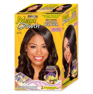 Profectiv Mega Growth - No-Lye Relaxer Super Strength: 2 Touch-up Applications