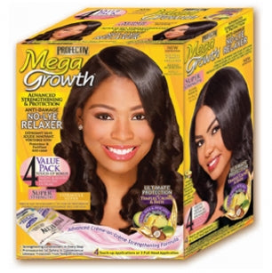 Profectiv Mega Growth - No-Lye Relaxer Super Strength: 4 Touch-up Applications