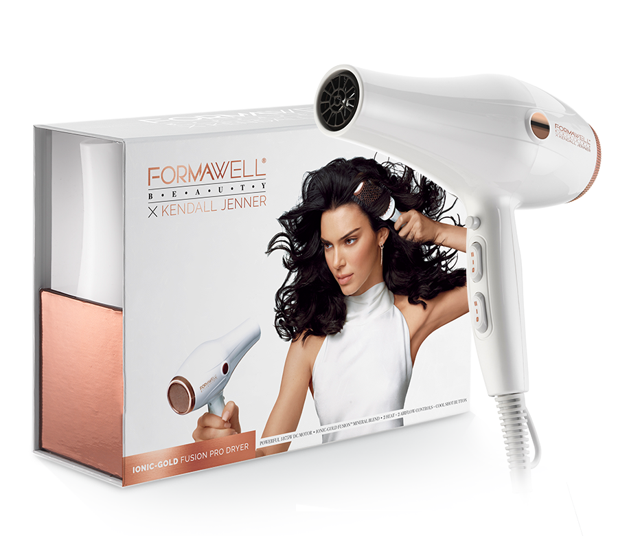 Formawell Beauty X Kendall Jenner Ionic-Gold Fusion Pro Dryer