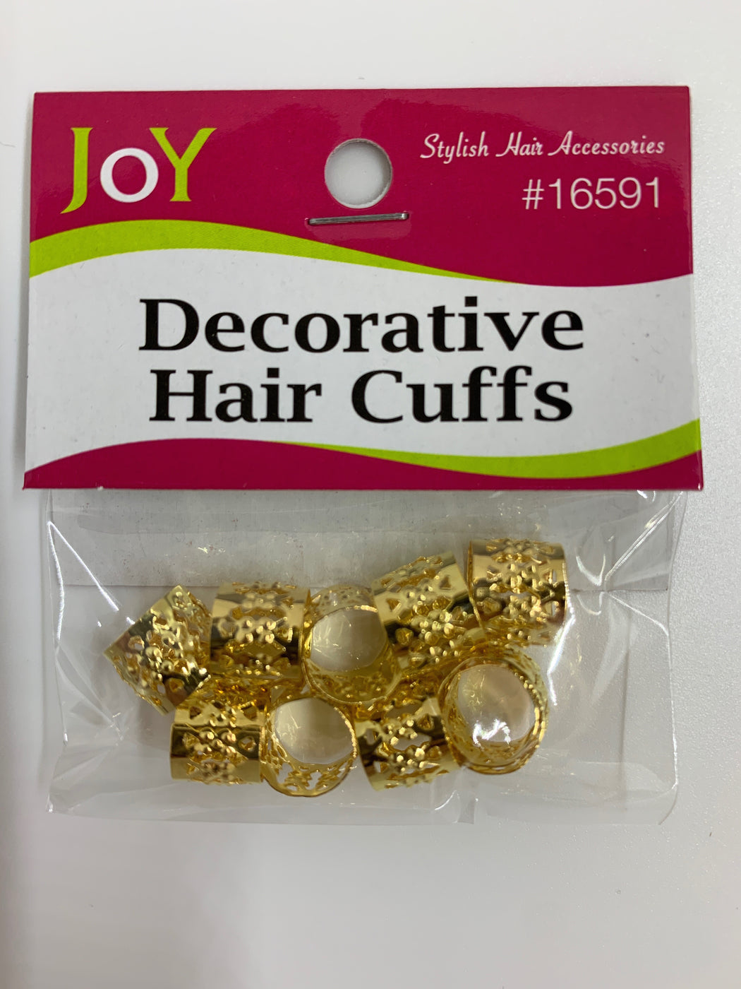 Gold Hair Cuffs