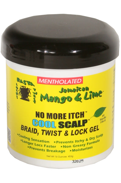 Jamaican Mango & Lime No More Itch Cool Scalp Locking Gel (Mentholated)