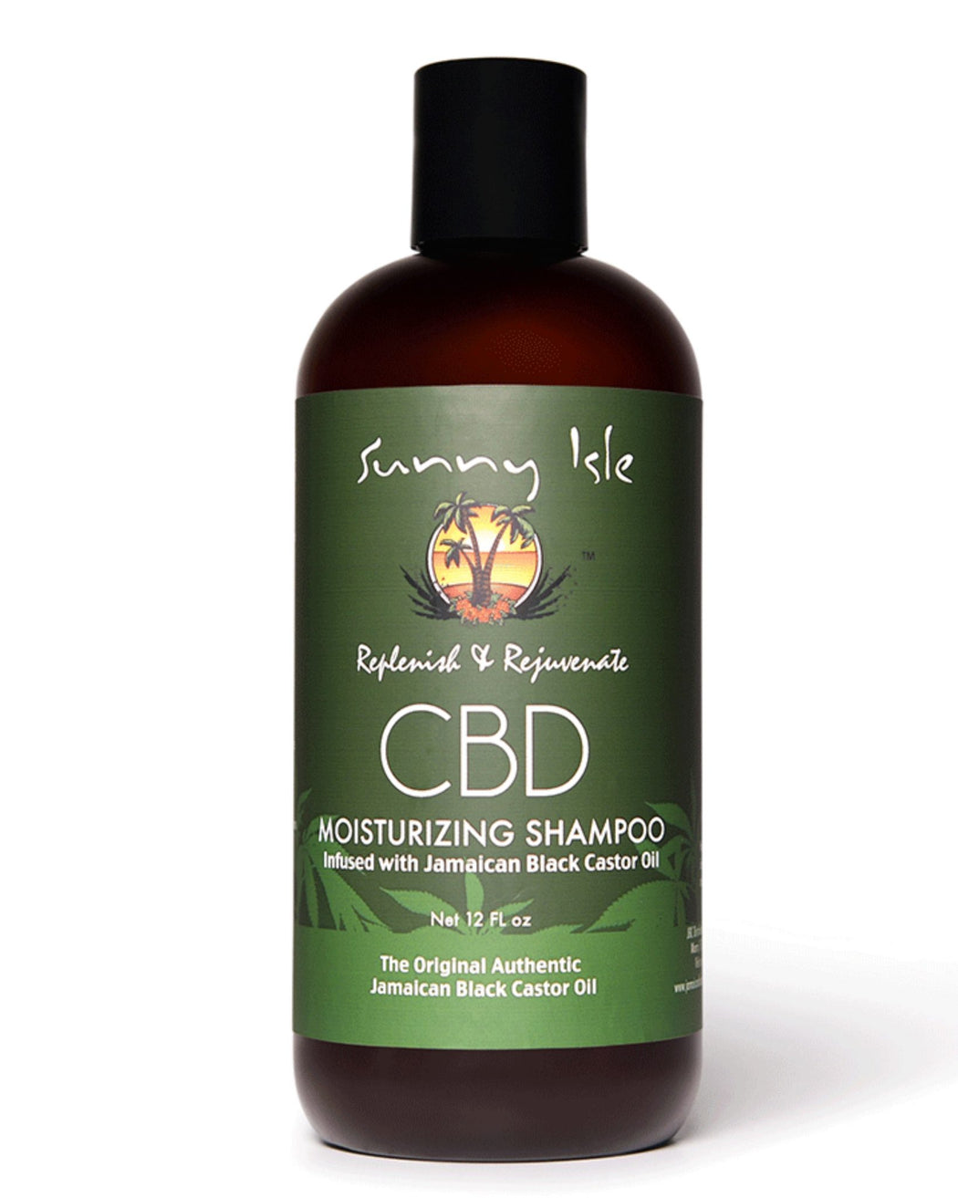 Sunny Isle CBD Moisturising Shampoo Infused with Jamaican Black Castor Oil