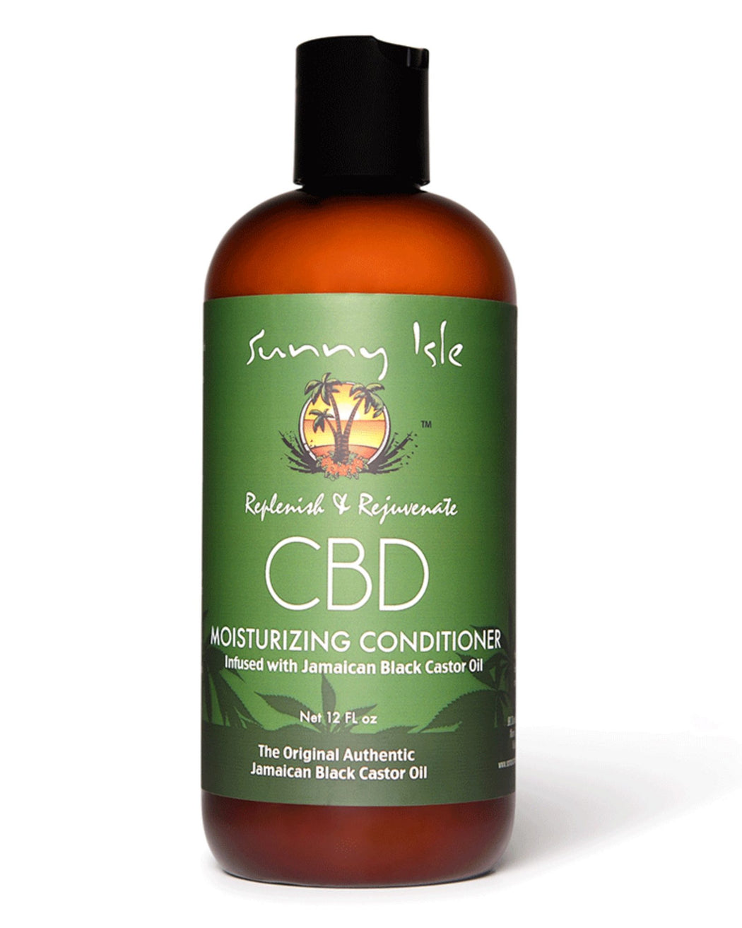 Sunny Isle CBD Moisturising Conditioner Infused with Jamaican Black Castor Oil
