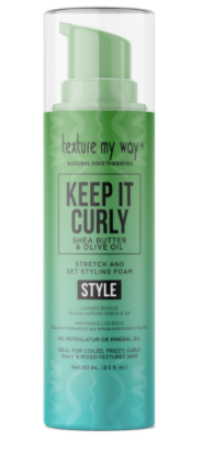 Texture My Way Keep It Curly Stretch & Set Styling Foam