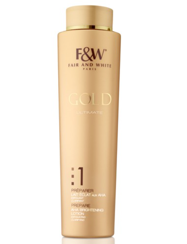 Fair & White Gold AHA Brightening Lotion