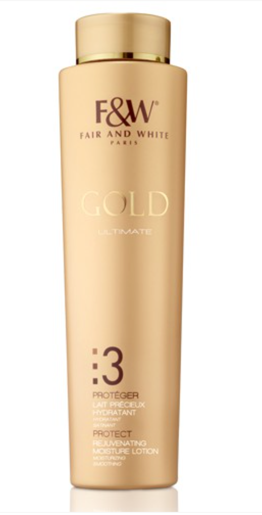 Fair & White Gold Rejuvenating Moisture Lotion