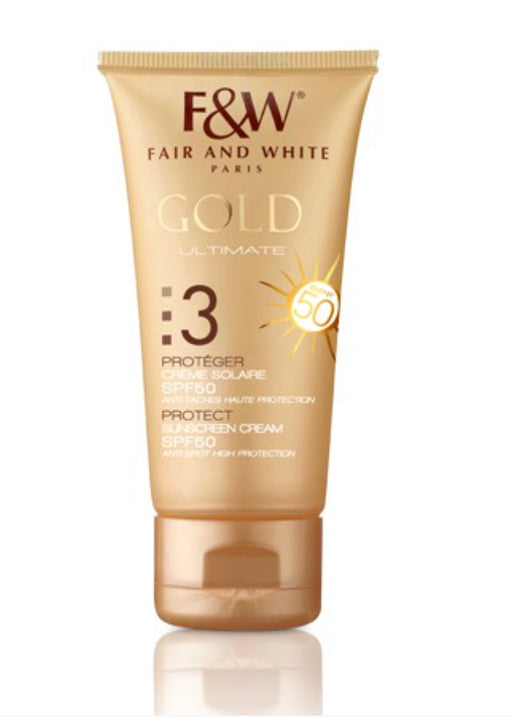Fair & White Gold Sunscreen SPF 50