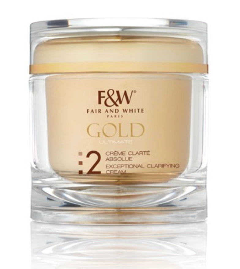 Fair & White Gold Exceptional Clarifying Cream